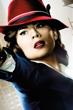 Preview iPhone wallpaper Hayley Atwell, Agent Carter
