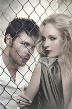 Preview iPhone wallpaper Joseph Morgan, Claire Holt, The Originals