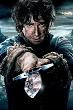 Preview iPhone wallpaper Martin Freeman, The Hobbit: The Battle of the Five Armies