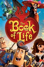Preview iPhone wallpaper The Book of Life, cartoon movie