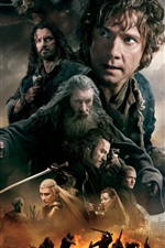 Preview iPhone wallpaper The Hobbit: The Battle of the Five Armies