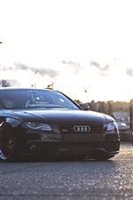 Audi A4 and BMW cars