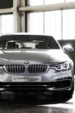 미리보기 iPhone 배경 화면 BMW 4 시리즈 쿠페 컨셉 자동차 전면보기