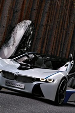 Preview iPhone wallpaper BMW concept car, beautiful, wings