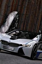 iPhone fondos de pantalla BMW concept car, hermoso, alas