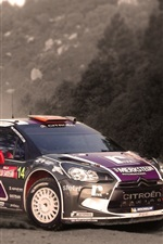 Preview iPhone wallpaper Citroen DS3 Rally, Car, Sports
