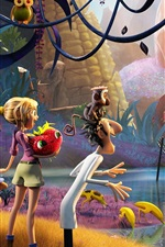 Preview iPhone wallpaper Cloudy with a Chance of Meatballs 2