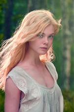 Preview iPhone wallpaper Elle Fanning 02