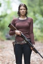 Vorschau des iPhone Hintergrundbilder Lauren Cohan, The Walking Dead