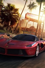 Preview iPhone wallpaper The Crew PC game, Ferrari, Nissan, Lamborghini