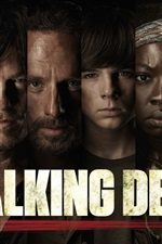 Preview iPhone wallpaper The Walking Dead, TV series