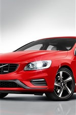Preview iPhone wallpaper Volvo S60 R-design red car