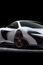 2015 McLaren 675LT white supercar