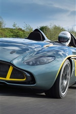 Preview iPhone wallpaper Aston Martin CC100 Speedster Concept car
