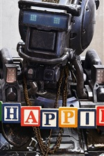 Preview iPhone wallpaper Chappie 2015 movie