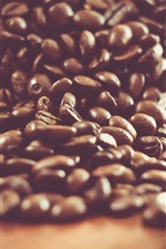 Preview iPhone wallpaper Coffee beans, spoon, still life