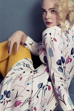 Preview iPhone wallpaper Elle Fanning 04