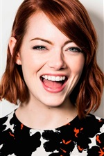 Preview iPhone wallpaper Emma Stone 03