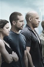 Preview iPhone wallpaper Fast and Furious 7 HD