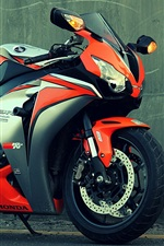 Preview iPhone wallpaper Honda CBR 1000 motorcycle