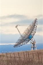 Preview iPhone wallpaper Radio Telescope, Stanford University, California