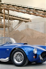 1963 Shelby Cobra CSX 4000 427 SC blue car