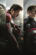 Preview iPhone wallpaper 2015 Marvel movie, Avengers 2