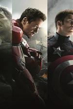 iPhone обои 2015 Marvel кино, Мстители 2