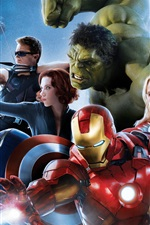 Preview iPhone wallpaper 2015 movie, Avengers: Age of Ultron