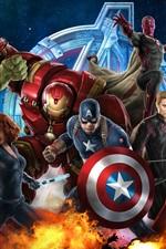 Vorschau des iPhone Hintergrundbilder Avengers: Age of Ultron HD