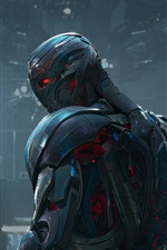 Preview iPhone wallpaper Avengers: Age of Ultron, metal iron robot