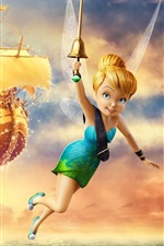 Preview iPhone wallpaper Disney movie, TinkerBell and Pirate Fairy