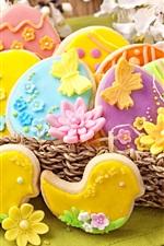 Easter, cookies, pastries, food