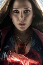 Preview iPhone wallpaper Elizabeth Olsen, Avengers: Age of Ultron