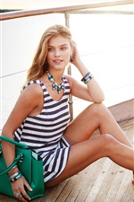 Preview iPhone wallpaper Nina Agdal 04