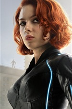 Preview iPhone wallpaper Scarlett Johansson, Avengers: Age of Ultron