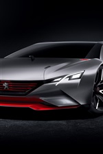 Preview iPhone wallpaper 2015 Peugeot concept supercar