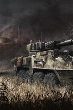 미리보기 iPhone 배경 화면 기갑 전쟁, 탱크, PC 게임
