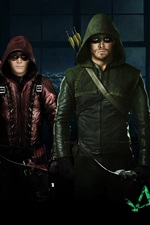 Preview iPhone wallpaper Arrow TV series, Season 3