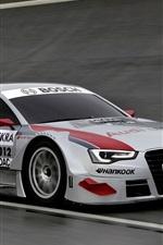 iPhone fondos de pantalla Audi A5 DTM superdeportivo, velocidad
