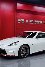 Nissan 370Z white, red supercars