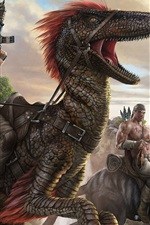 Preview iPhone wallpaper ARK: Survival Evolved