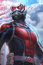 Preview iPhone wallpaper Ant-Man, Marvel Comics