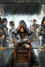 Preview iPhone wallpaper Assassin's Creed: Syndicate, PC game