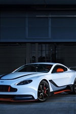 Preview iPhone wallpaper Aston Martin 2015 Vantage GT3 two cars