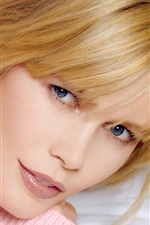 Preview iPhone wallpaper Claudia Schiffer 01