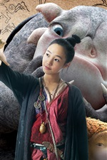 Preview iPhone wallpaper Monster Hunt HD movie 2015
