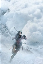 Preview iPhone wallpaper Rise of the Tomb Raider