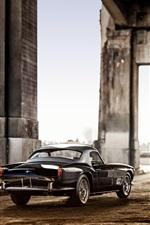 1959 Ferrari 250 GT black car