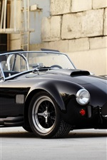 Preview iPhone wallpaper 1967 Shelby Cobra 427 SC, Ford black car